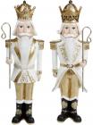 "Набор 2 статуэтки ""Щелкунчик"" Gold 9.5х7х30.5см"