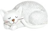 """Декоративна статуетка """"Сплячий Котик"""" Антік 19х10.5х10.5см, полістоун"""