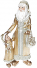 """Фигура """"Санта с малышкой"""" Gold 18х12.5х35см, полистоун"""