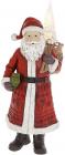 """Фігура декоративна """"Санта Клаус з Ялинкою"""" 40см, червоний"""