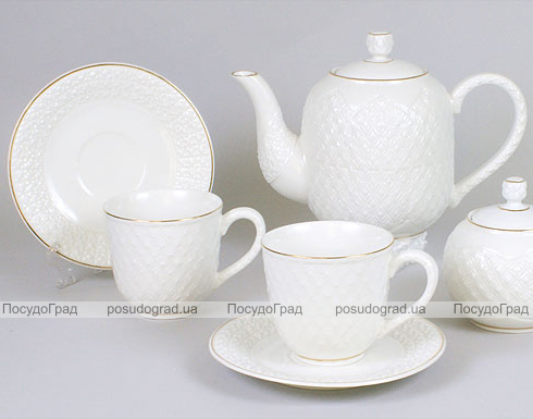 Чайный сервиз White Princess-110 15 предметов