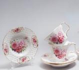 """Чайний сервіз """"Букет троянд"""" I 220мл 12 предметів"""
