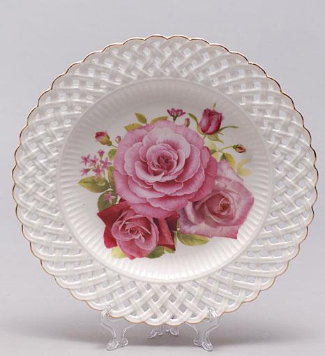 """Блюдо """"Букет роз"""" круглое Ø26.2см"""