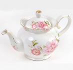 """Чайник заварювальний """"Китайська троянда"""" 1200мл, фарфор"""