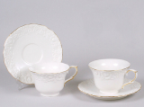 Чайний набір White Princess-211 280мл 4 предмета