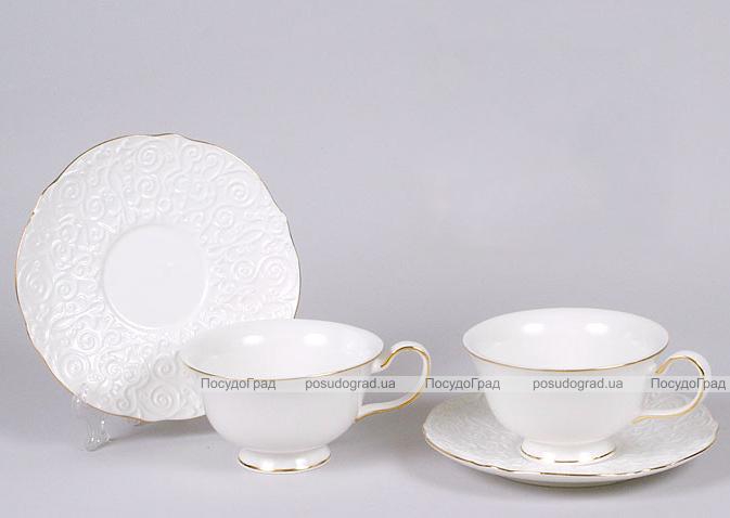 Чайный сервиз White Princess-312 280мл 12 предметов