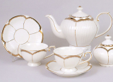 Чайный сервиз Princess Gold-520 15 предметов