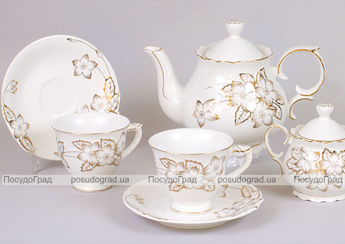 Чайный сервиз Princess Gold-531 15 предметов