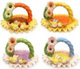 Корзина для яиц Пчелки декоративная из керамики 18см
