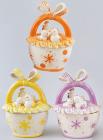 "Корзина для яиц ""Гнездышко"" декоративная из керамики 19см"