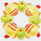 """Декоративна підставка """"Великодня"""" на 8 яєць керамічна"""