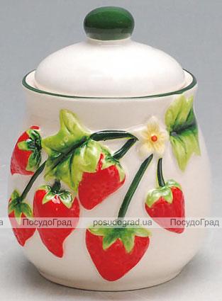 Сахарница Strawberries-06 Ø10х13см