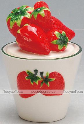 Сахарница Strawberries-07 Ø9х12см