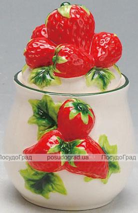 Сахарница Strawberries-08 Ø10х13см