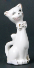 "Статуетка фарфорова декоративна ""Кішка"" 8см"