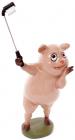"""Декоративна статуетка """"Селфі-свинка"""" 12.5х8.5х27см"""