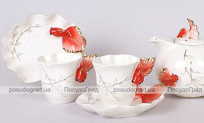 Чайный сервиз Aquarium Gold 15 предметов