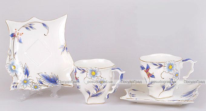 Чайный сервиз Bright 3D-B22 12 предметов