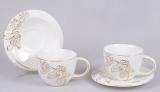 Чайный сервиз Princess Gold-B11 250мл 12 предметов на 6 персон