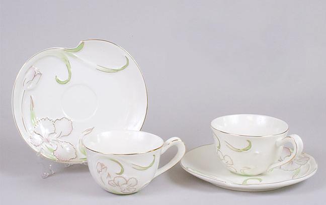 Чайный набор Princess Bona-B15 2 чашки 200мл и 2 блюдца, подарочный