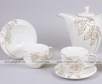 Чайный сервиз Princess Gold-7C10 15 предметов