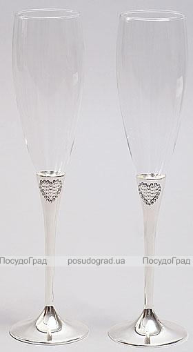 Набор фужеров для шампанского Wedding Carol 2шт