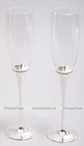 Набор фужеров для шампанского Wedding Jennifer 2шт