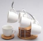 Набор кофейный Ceram-Bamboo 110мл 13 предметов