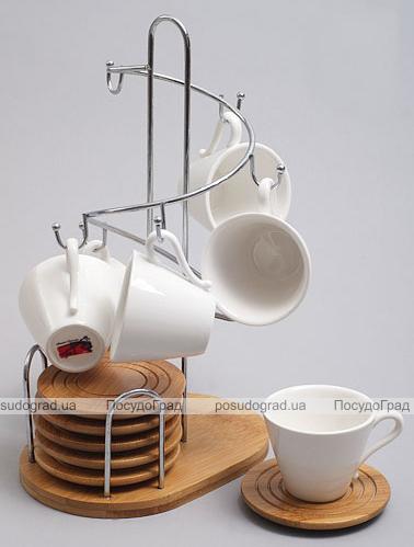 Набор кофейный Ceram-Bamboo 75мл 13 предметов