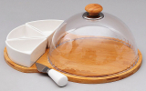 Набор для масла и сыра Ceram-Bamboo 34см 6 предметов