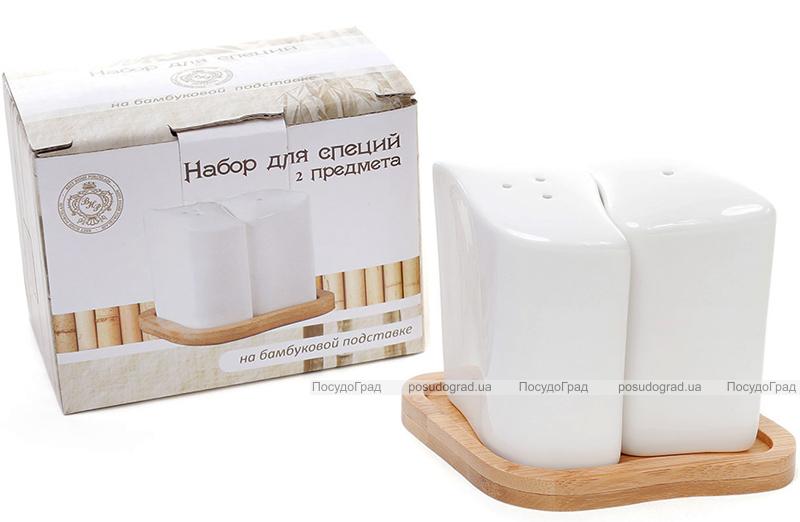 """Набор для специй Ceram-Bamboo """"Арт"""" соль/перец на бамбуковой подставке"""