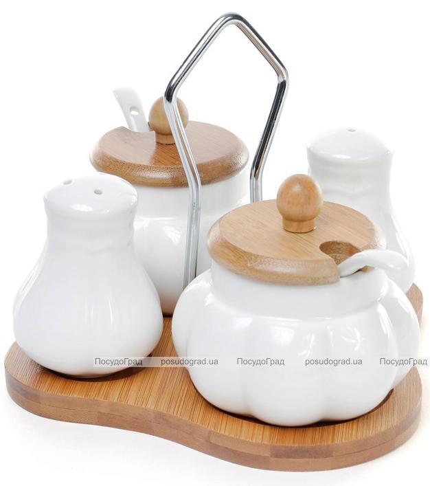 Набор спецовников Ceram Bamboo сахарница и емкость для меда или горчицы