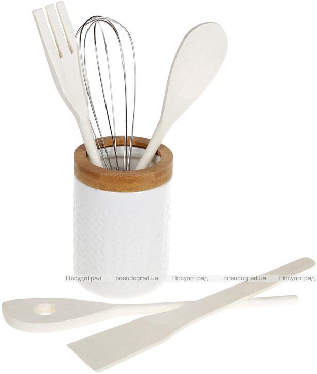 Набор кухонных аксессуаров Nouvelle Home Alita, 5 предметов в подставке