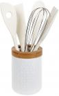 Набір кухонних аксесуарів Nouvelle Home Alita, 5 предметів в підставці