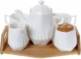 Чайный набор Nouvelle Home Coutle 5 предметов на подносе