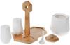 Набір для спецій Nouvelle Home Coutle цукорниця і 2 спецовника на підставці