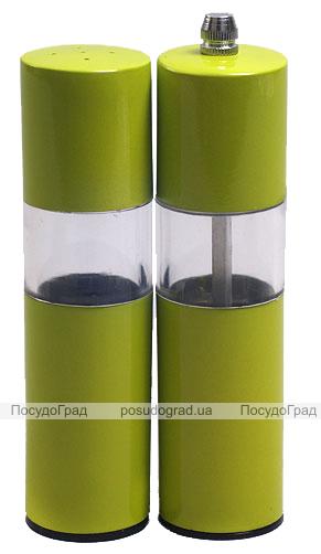 Набор Bona Spices Green High-Tech солонка и мельница 15см