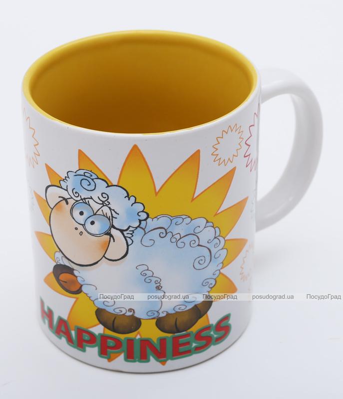 """Кружка """"Счастливая овечка-45"""" 340мл"""