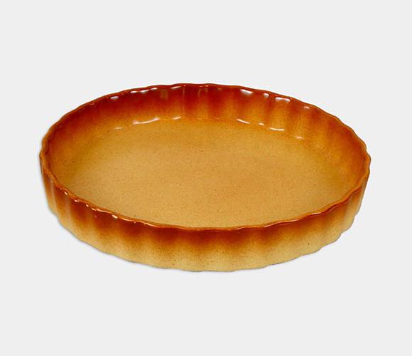 Керамическая жаропрочная форма Unico Classic круглая Ø25см