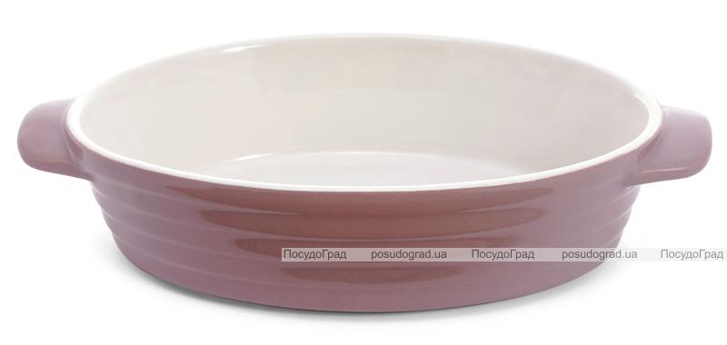 Форма для выпечки Augsburg керамическая 24х14.5х5.5см овальная с ручками (какао)