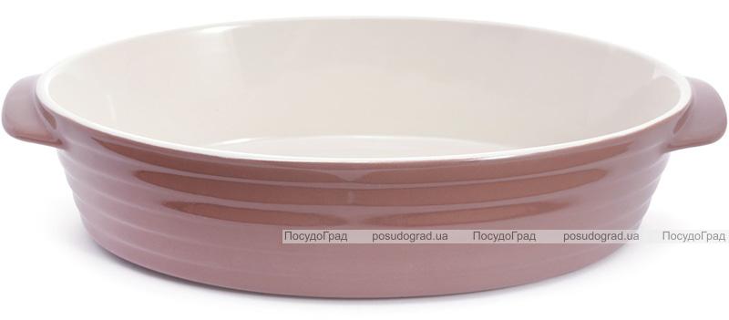 Форма Augsburg овальна для випічки 37х22.5х8.5см керамічна (какао)