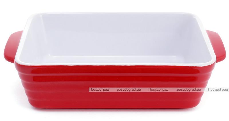 Форма для выпечки Augsburg керамическая 24х15.5х6см с ручками (красная)