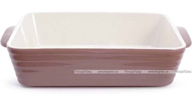Форма для выпечки Augsburg керамическая 32х21.5х7.5см с ручками (какао)