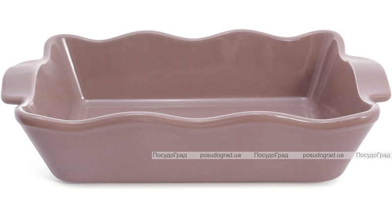 Форма для выпечки Augsburg керамическая 29х17х6.5см с ручками (какао)