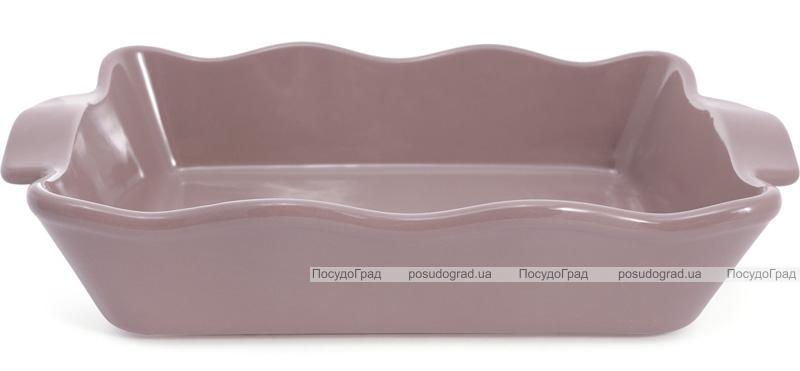 Форма для выпечки Augsburg керамическая 38х23х8.2см с ручками (какао)