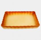 Керамическая жаропрочная форма Unico Classic прямоугольная 35х24см