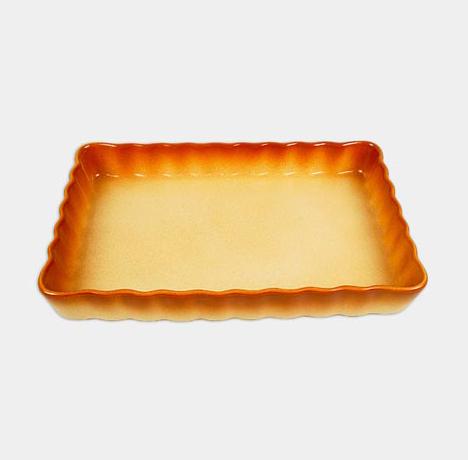 Керамическая жаропрочная форма Unico Classic прямоугольная 32х22см
