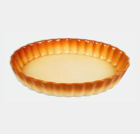 Керамическая жаропрочная форма Unico Classic овальная 29см
