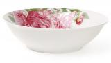"""Салатник фарфоровый """"Розовые розы"""" 1200мл Ø23см"""