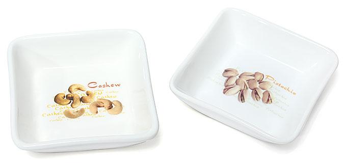 Набор 2 пиалы Bona 10х10см для орешков